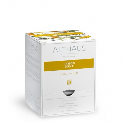Чай Althaus Lemon Mint Pyra-Pack